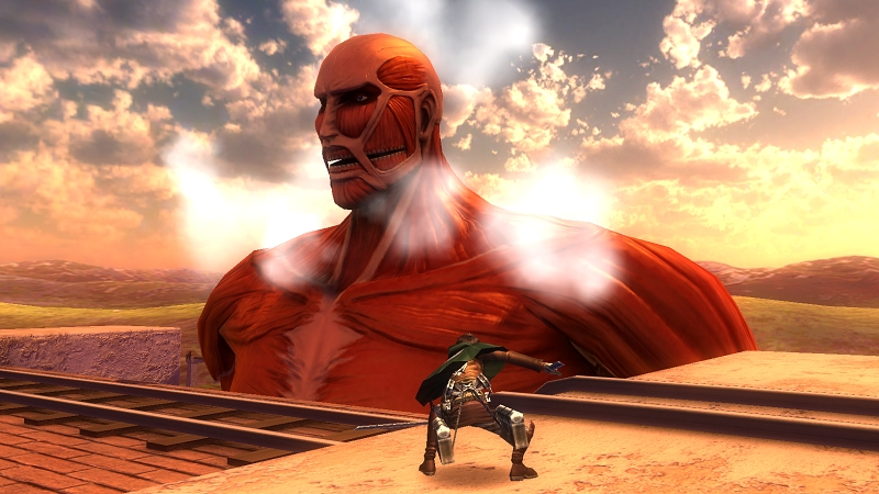 Full Scale Action Mmorpg Avabel Online Kill The Colossal Titan Attack On Titan Collaboration Starts Asobimo Inc